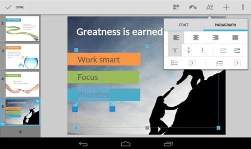 Crear documentos y modificarlos Microsoft Office con QuickOffice