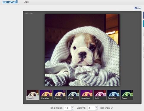 Efectos automáticos de fotos al estilo Instagram