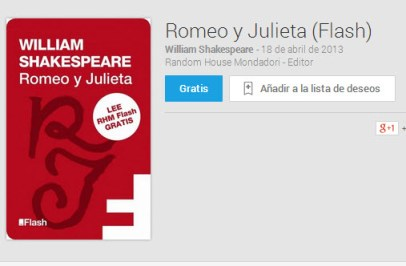 Libros gratis de Google Play Books