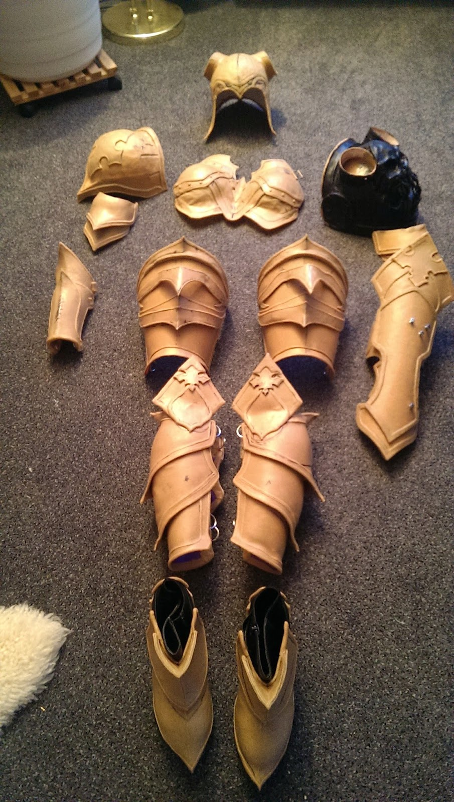 Demon Hunter Leg Armor Worbla Thermoplastics