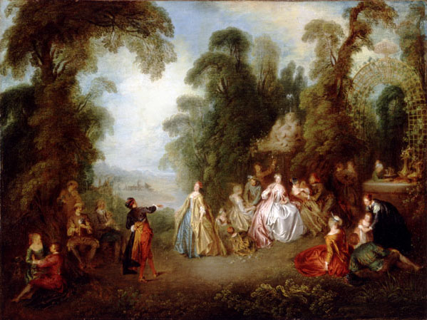 Rococo Landscape Paintings