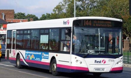 "First Bus are re-branding 144 bus service between Worcester & Birmingham to the ""Salt Road"""