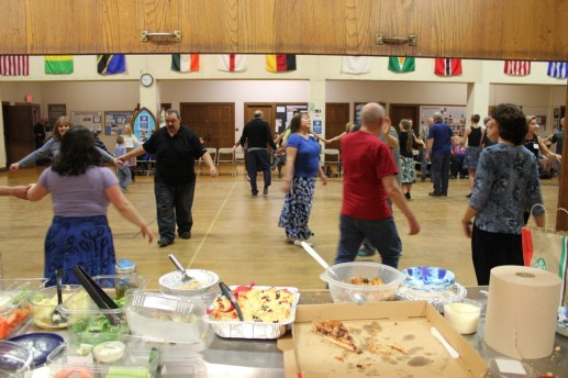 Food and dancing!