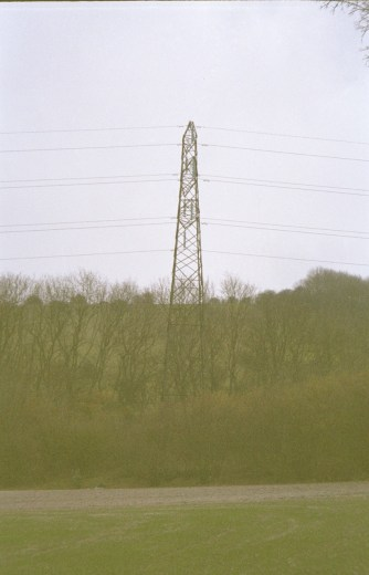 The pylon.