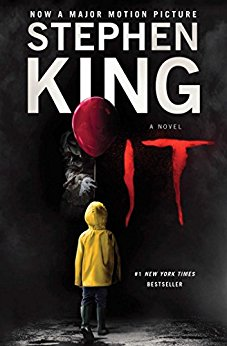 Image result for stephen king it book cover 2017