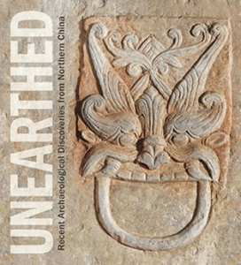"""""""Unearthed"""" Chinese Archaeology Exhibit Catalog cover"""