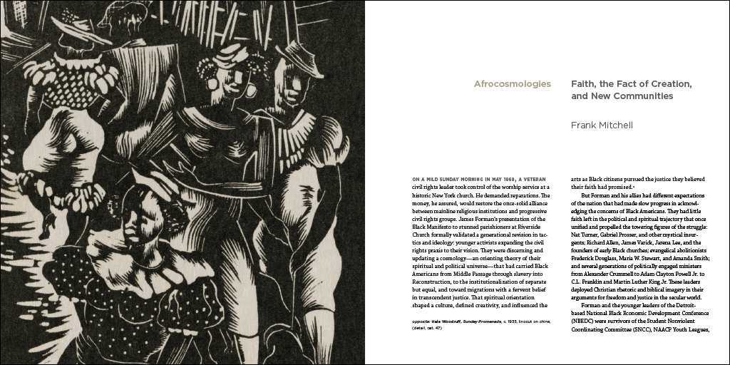 Afrocosmologies Afrocosmologies text spread 7