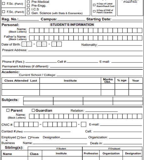 MS Word Academy Registration Form Template Archives Word Excel – Registration Template Word