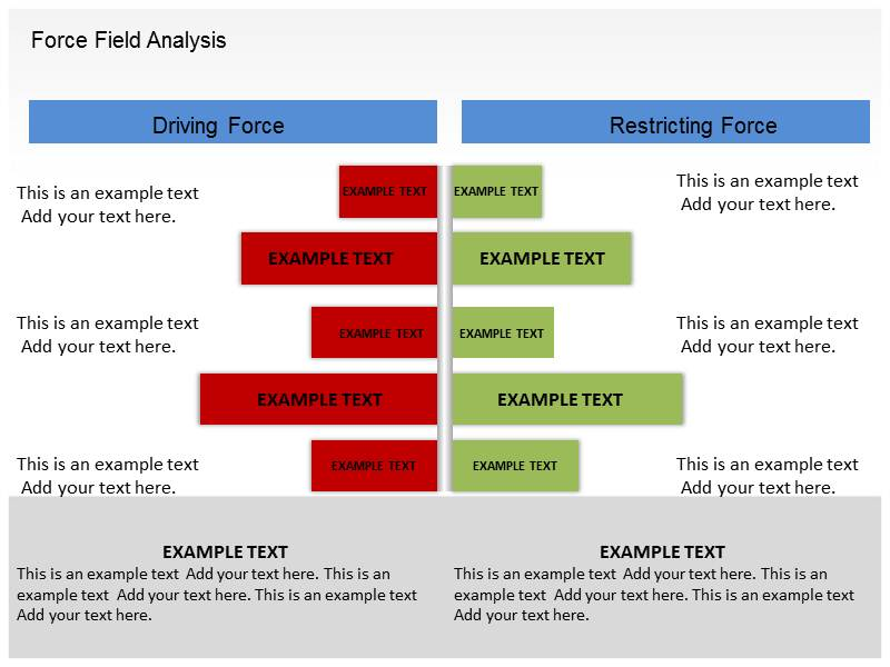 Force Field Analysis Templates  Word Excel Templates