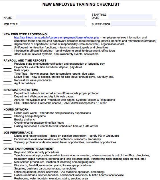 training-checklist-template-454