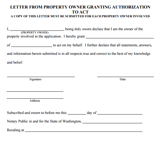 5  authorization letter samples to act on behalf