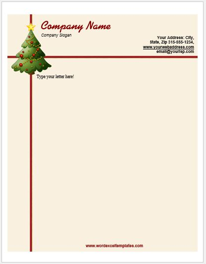 Event Letterhead Templates For MS Word Word Amp Excel Templates