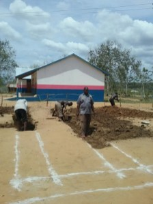 Marking out foundations