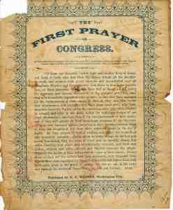 first prayer