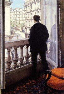 Gustave Caillebotte - Young Man at the Window