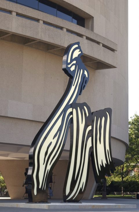 Roy Lichtenstein, Brushstroke, 1996