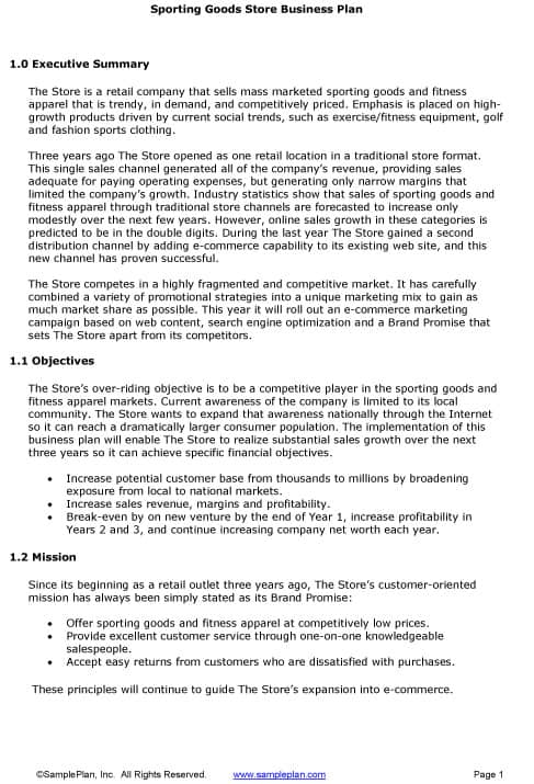 Sample Executive Reports Sample Executive Summary For Resumes