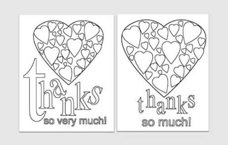 thank you card template 22