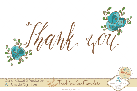 thank you card template 55