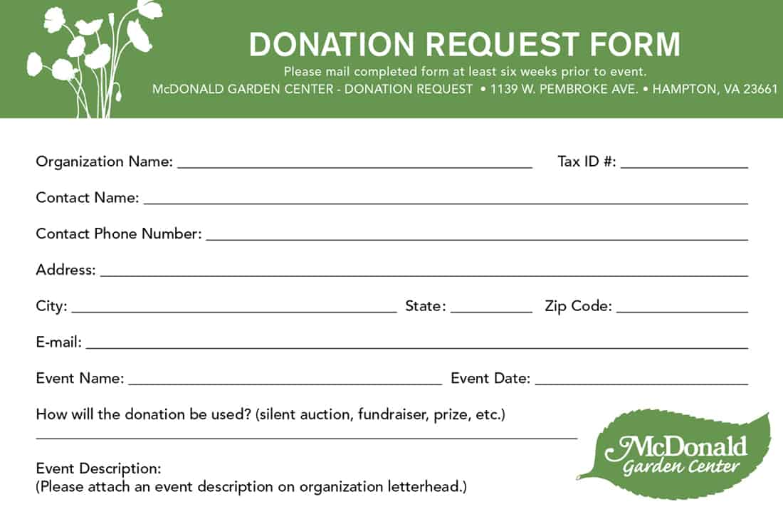 Good Donation Form 554 Regarding Donation Form Templates