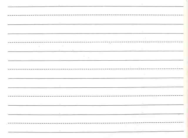 Writing Paper 5454