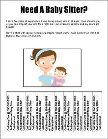 18 Tear-Off Flyer Templates - Excel PDF Formats
