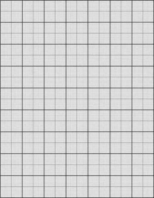 Graph Paper Template Sample Inch Graph Paper Free Documents In Pdf