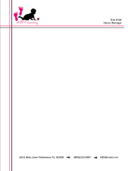 Doc585805 Professional Letterhead Sample 15 Professional – Free Letterhead Sample