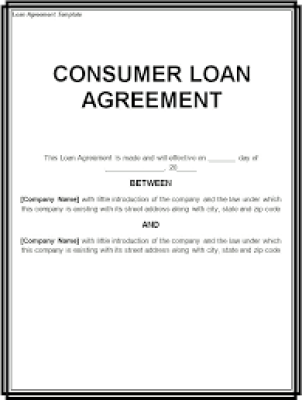 14 Loan Agreement Templates - Excel PDF Formats
