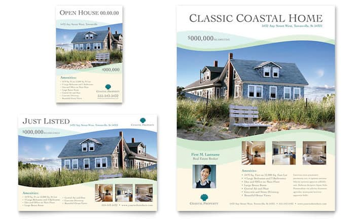 Real Estate Feature Sheet Template Romeondinez