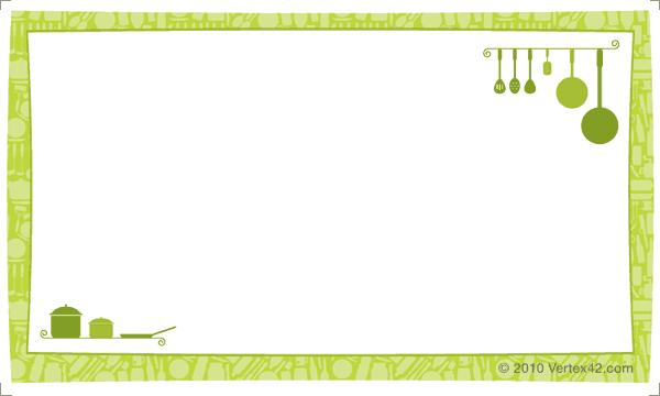 recipe card template 654512