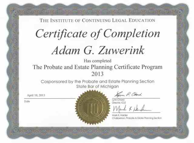 Certificate of Completion template 85895