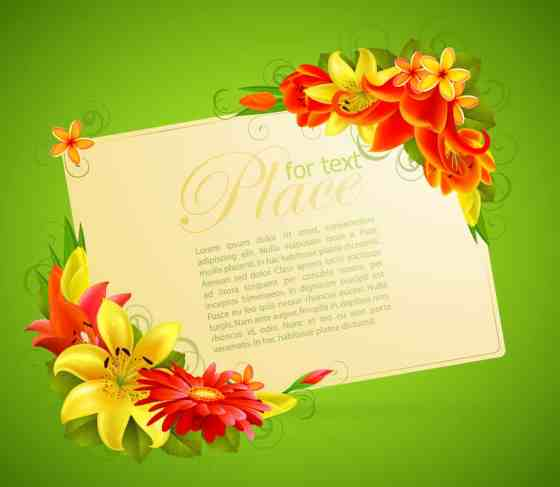 Greeting Card template 88873