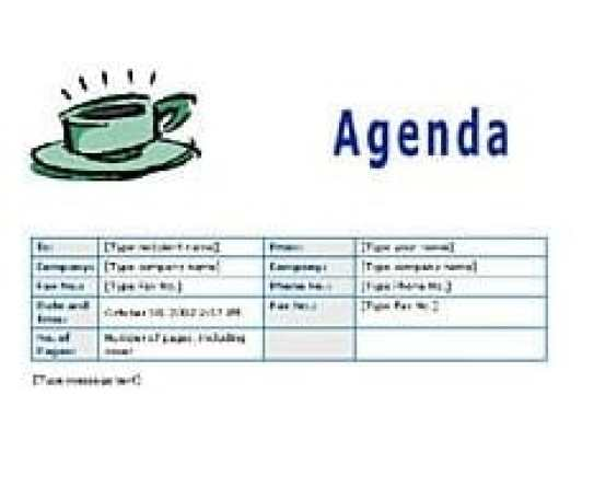 15 Meeting Agenda Templates - Excel Pdf Formats