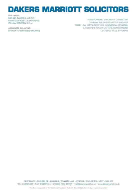 company letterhead template 6597