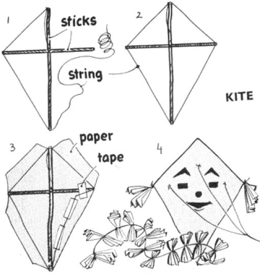16 printable kite template designs
