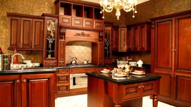 Photo of Cherry Kitchen Cabinets: Your Perfect Choice for a Prep Kitchen Decor