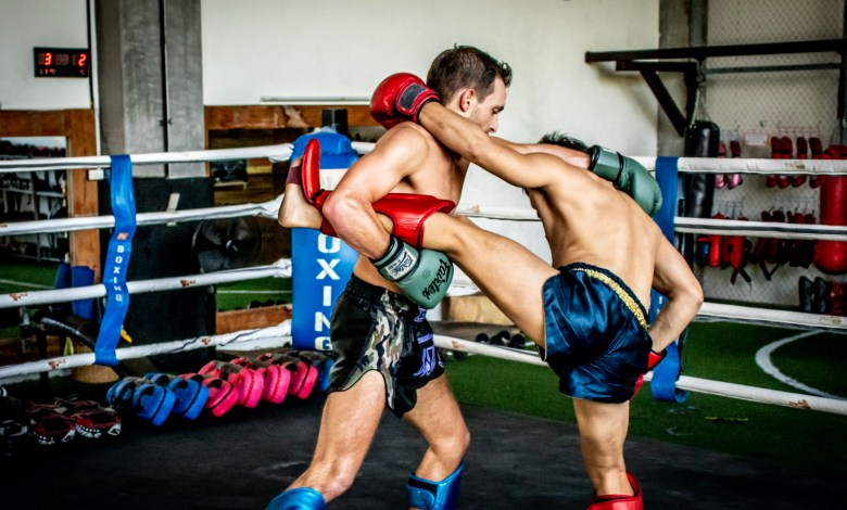 Muay Thai Training and Boxing in Thailand during Holidays