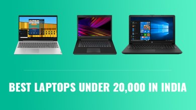 Photo of Top 3 best laptops under 20000 INR in India