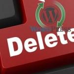 Как удалить WordPress