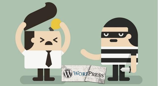 Как убирать ссылки автора темы WordPress