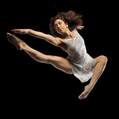 Tänzerin Jasmin Rituper