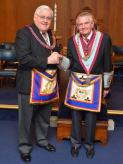 WM Keith Proctor meets APGM VWBro. David Hedley Thompson