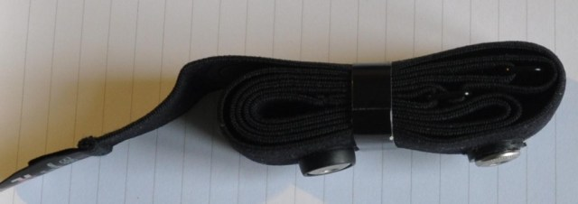 Polar SoftStrap Strap with rubber cut away