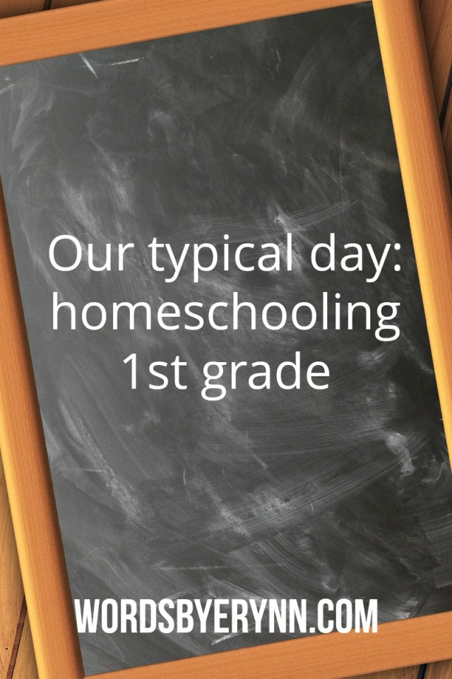 One of the reasons we homeschool is for the flexibility in our days, and our lives. So, I want to share what we do, what works and what doesn't. -WordsbyErynn.com