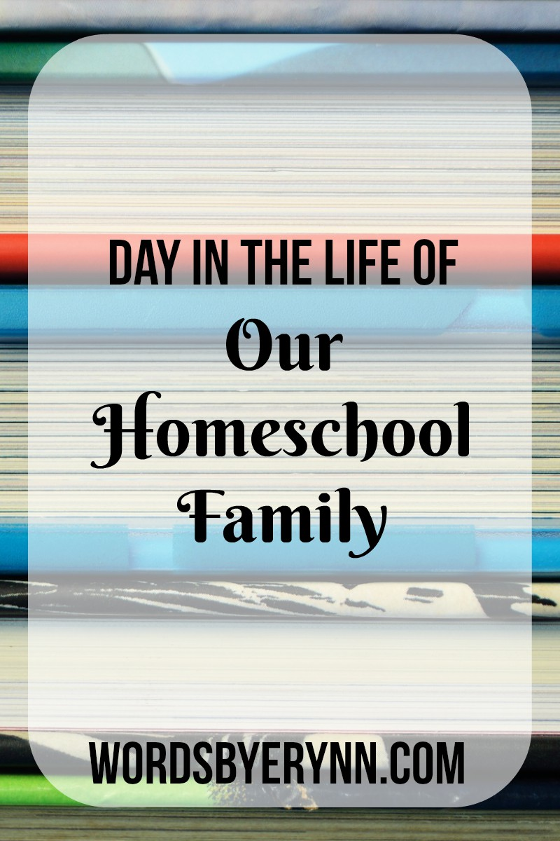 Day in the life of our homeschool family