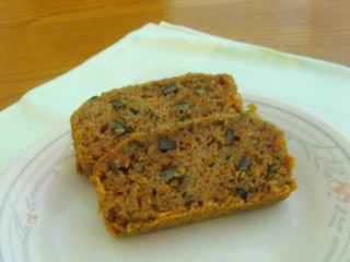 Zucchini-Carrot-Apple Bread