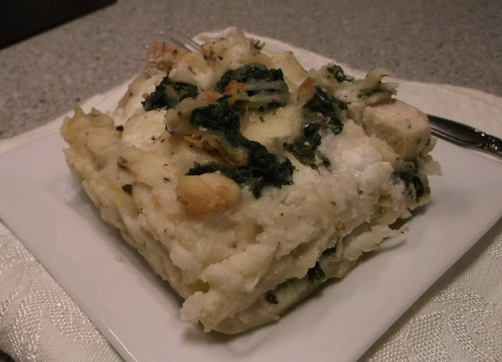 White Cheese Chicken Lasagna - Words of Deliciousness
