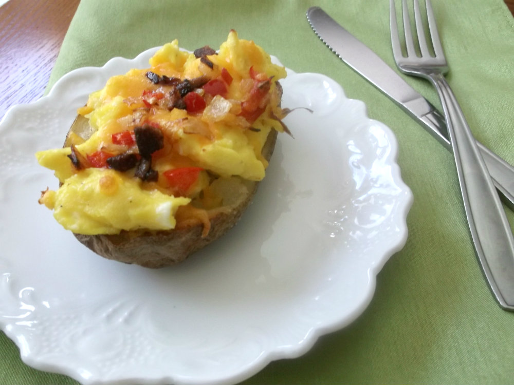 Breakfast Potato Skins - Words of Deliciousness