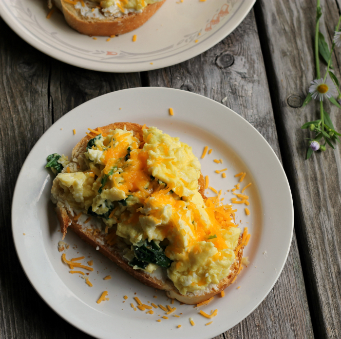 Scrambled Egg Toast - Words of Deliciousness